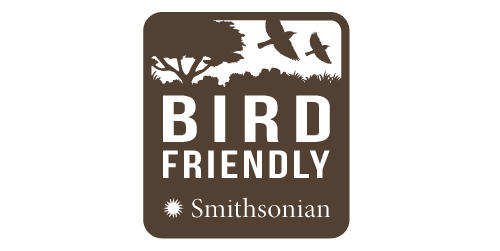 Smithsonian Migratory Bird Center's Bird Friendly seal